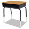 Virco Virco Open-Front 785 Student Desks with Colored Bookboxes VIR 785084