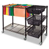 Advantus Advantus® Mobile File Cart with Drawers VRTVF50621