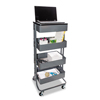 Vertiflex Vertiflex™ Multi-Use Storage Cart and Stand-Up Workstation VRT VF51025
