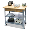 utility carts, trucks and ladders: Vertiflex™ Countertop Serving Cart