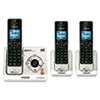 Vtech Communications Vtech® LS6425-3 DECT 6.0 Cordless Voice Announce Answering System VTE LS64253