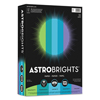 loose paper: Wausau Paper® Astrobrights® Colored Paper