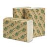 Wausau Paper EcoSoft Folded Towels, White WAU 48500