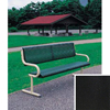 Benches Metal Benches: Wausau Tile - Free Standing Ergo Bench