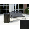 Wausau Tile Bench with arched back WAU MF2201BK