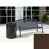 Wausau Tile Bench with arched back WAU MF2201BR