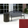 Wausau Tile Bench with arched back WAU MF2201R