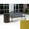 Wausau Tile Bench with arched back WAU MF2201Y