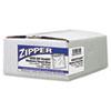 Webster Handi-Bag® Resealable Clear Plastic Storage Bags WBI ZIPQUART