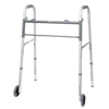 Ring Panel Link Filters Economy: Compass Health Brands - ProBasics® Bariatric Two-Button Folding Walker with Wheels, Adult