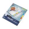 Wilson Jones Wilson Jones® View-Tab® Transparent Index Dividers WLJ 55067