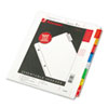 Binder Accessories Sheet Hole Reinforcements: Wilson Jones® Oversized Reinforced Insertable Tab Index
