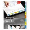 Wilson Jones Wilson Jones® View-Tab® Paper Index Dividers WLJ 55965