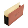Wilson Jones Wilson Jones® Super Capacity Redrope Expanding File Pocket WLJ 78CG