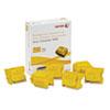 Xerox Xerox 108R01016 Ink Stick, 16900 Page-Yield, Yellow, 6/Box XER 108R01016