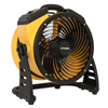 "xpower: XPOWER - 1100 CFM 4 Speed Portable Multipurpose 11"" Pro Whole Room Air Circulator Utility Fan"