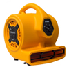 XPOWER 1/5 HP 800 CFM Multi-Purpose Mini Mighty Air Mover, Utility Fan, Dryer, Blower with Built-in Power Outlets XPO P-130A