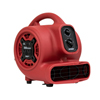 XPOWER P-230AT 1/5 HP 800 CFM Multi-Purpose Mini Mighty Air Mover XPO P-230AT-Red
