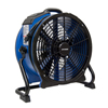 xpower: XPOWER - 1/3 HP 3600 CFM High Temperature Variable Speed Sealed Motor Industrial Axial Air Mover