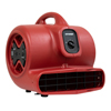 XPOWER X-600A 1/3 HP 2400 CFM 3 Speed Air Mover XPO X-600A Red
