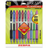 Zebra Zebra Sarasa® Gel Retractable Roller Ball Pen ZEB 46881