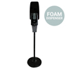 Zogics Touch-Free Automatic Hand Sanitizer Foam Dispenser With Floor Stand ZOG DIS01FOAMSTD-BK