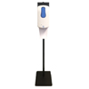 Zogics Touch-Free Automatic Hand Sanitizer Foam Dispenser With Floor Stand ZOG DIS01FOAMSTD-WH
