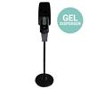 Zogics Touch-Free Automatic Hand Sanitizer Gel Dispenser With Floor Stand ZOG DIS01GELSTD-BK