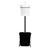 Zogics Bucket Stand Wipe Dispenser ZOGZ500-B