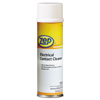 cleaning chemicals, brushes, hand wipers, sponges, squeegees: Electrical Contact Cleaner, Neutral, 12oz Aerosol, 12/Carton