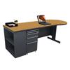 Marvel Group Teachers Conference Desk w/Bookcase MLG ZTCB8730-DT-SO