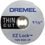 Dremel EZ Lock Cut-Off Wheels DRM114-EZ409