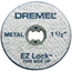 Dremel EZ Lock Cut-Off Wheels DRM114-EZ456
