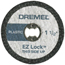 Dremel EZ Lock Cut-Off Wheels DRM114-EZ476