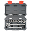 Cooper Hand Tools Crescent 11 Piece Drive Socket Wrench Set, 3/8 In, SAE ORS192-CSWS6