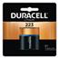 Duracell Ultra High Power Lithium Batteries, 223, 6V, 6/Pack DUR243-DL223ABPK