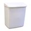 Hospeco Feminine Hygiene Products Waste Receptacle ABS Plastic HSC250-201W