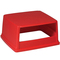 Rubbermaid Commercial Glutton® Hood-Top Receptacle Lid RCP256VRED