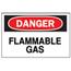 Brady Chemical & Hazardous Material Signs BRY262-72230
