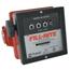 Fill-Rite Mechanical Flow Meters, 1 1/2 In Inlet, 6 Gal/Min - 40 Gal/Min, 4 Wheel ORS285-901C1.5
