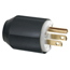 Cooper Wiring Devices 15 Amp Blk Plug Industrial Grade Auto Grip ORS309-WD5266N