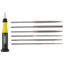 General Tools 6 Piece Swiss Pattern Neddle File Sets GNT318-707476