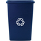 Rubbermaid Commercial Slim Jim® Recycling Container RCP3540-74BLU