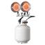 HeatStar Portable Propane Radiant Heaters, 20,000 Btu/H, 15 H ORS373-MH30T