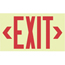 Jessup Glo Brite® Eco Unframed Exit Signs JSS397-7210