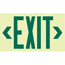 Jessup Glo Brite® Eco Unframed Exit Signs JSS397-7220