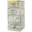 Justrite Aluminum Cylinder Lockers JUS400-23004