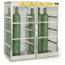 Justrite Aluminum Cylinder Lockers JUS400-23006