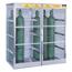 Justrite Aluminum Cylinder Lockers JUS400-23007