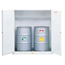 Justrite White Drum Cabinets for Flammable Waste JUS400-8991053